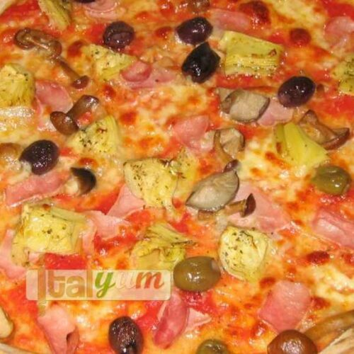 Italian pizza using active dried yeast | Pizza recipes