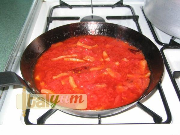 Amatrice Spaghetti (Spaghetti all'amatriciana) | Pasta recipes