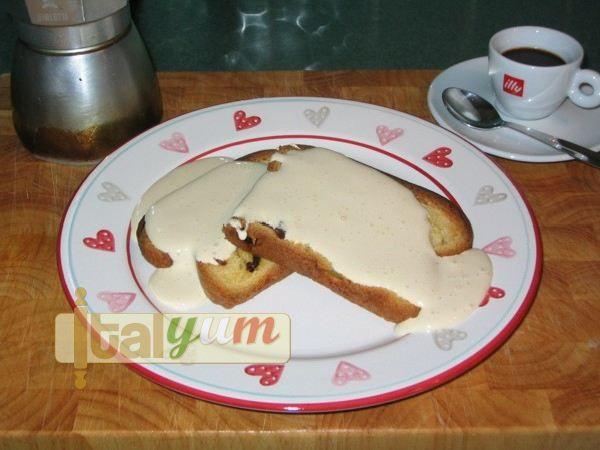 Panettone dessert (Fette di panettone con zabaglione caldo) | Dessert Recipes
