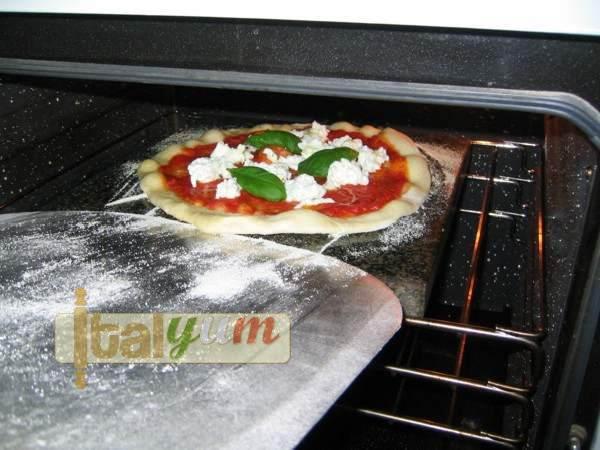Italian pizza with biga fresh dough - pizza margherita my way   Pizza recipes Biga