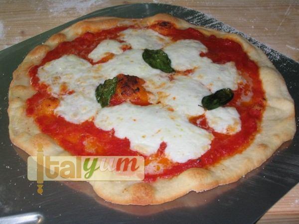 Italian pizza with biga fresh dough - pizza margherita my way | Pizza recipes Biga