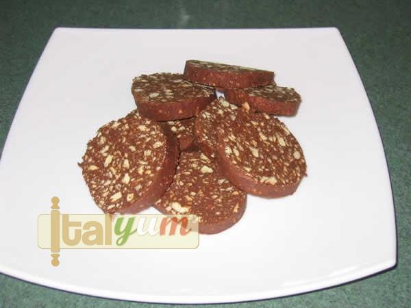 Chocolate salami (Salame di cioccolato) | Dessert Recipes