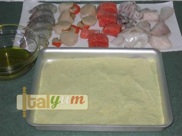 Fish kebabs (Spiedini di pesce) | Seafood recipes