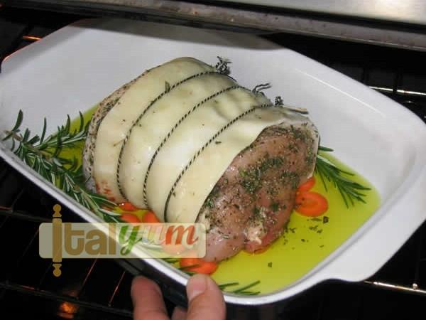 Roast pork leg joint (Arrosto di maiale) | Meat Recipes