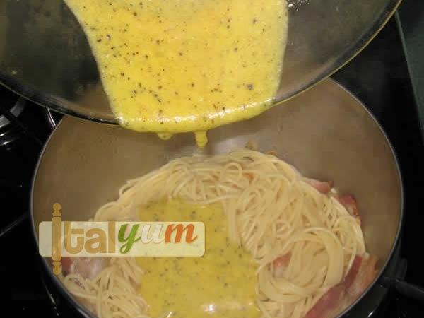Spaghetti carbonara (Spaghetti alla carbonara) | Pasta recipes