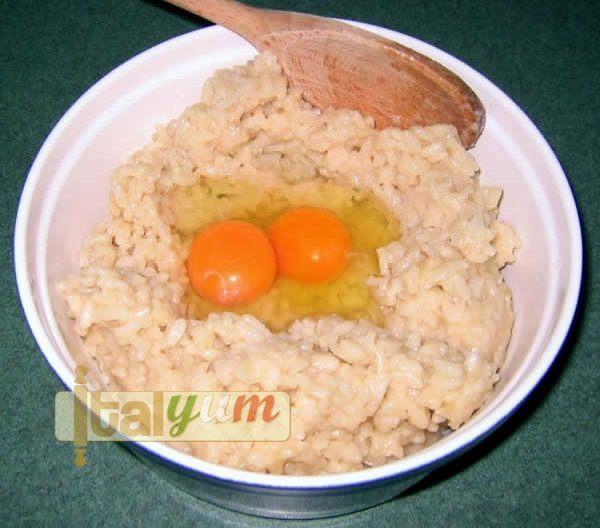 Rice croquettes (Polpette di riso) | Risotto recipes