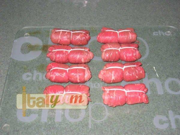 Meat rolls (Involtini al prosciutto) | Meat Recipes